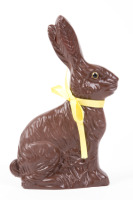 Yummy chocolate bunny NOT for animals!
